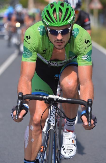 Vuelta a España 2014 - Stage 17: Ortigueira - A Coruña 190.7km photos - Green jersey wearer John Degenkolb (Giant-Shimano)