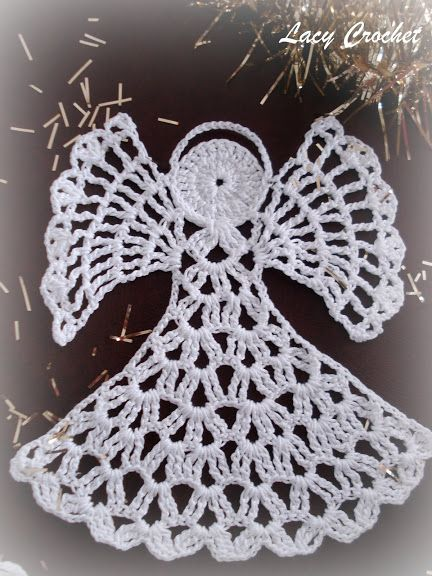 Christmas ideas - crochet angel pattern