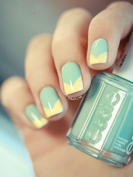 Nail art graphique - 30 nail art appropriés pour aller au bureau - Photos Beauté - Be.com