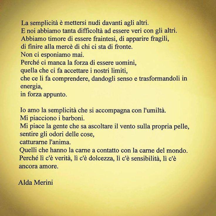 La semplicità - Ada Merini