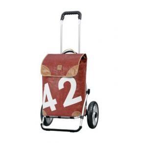 Einkaufstrolley- Andersen Royal Shopper 360° Lee - recyceltes Segel kommt zu neuen Ehren schoenes-verschenken.de
