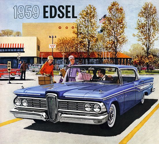 Plan59 :: Classic Car Art :: 1959 Edsel Corsair