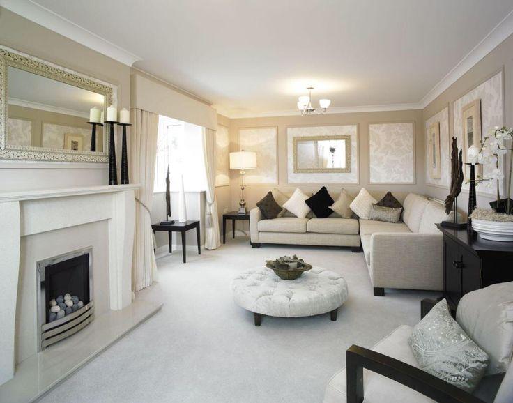 David Wilson homes   Log home kitchens, Living room decor ...