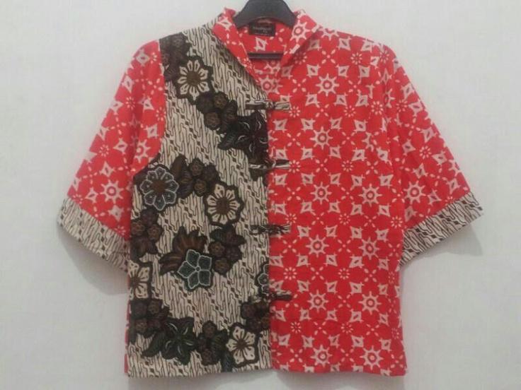 2 tone blouse