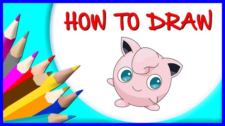 How to Draw Pokemon Jigglypuff | Drawing Time Lapse | 853672 HTD