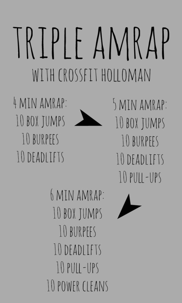 Triple AMRAP at crossfit holloman for 50 states in a year – Caitlin Black