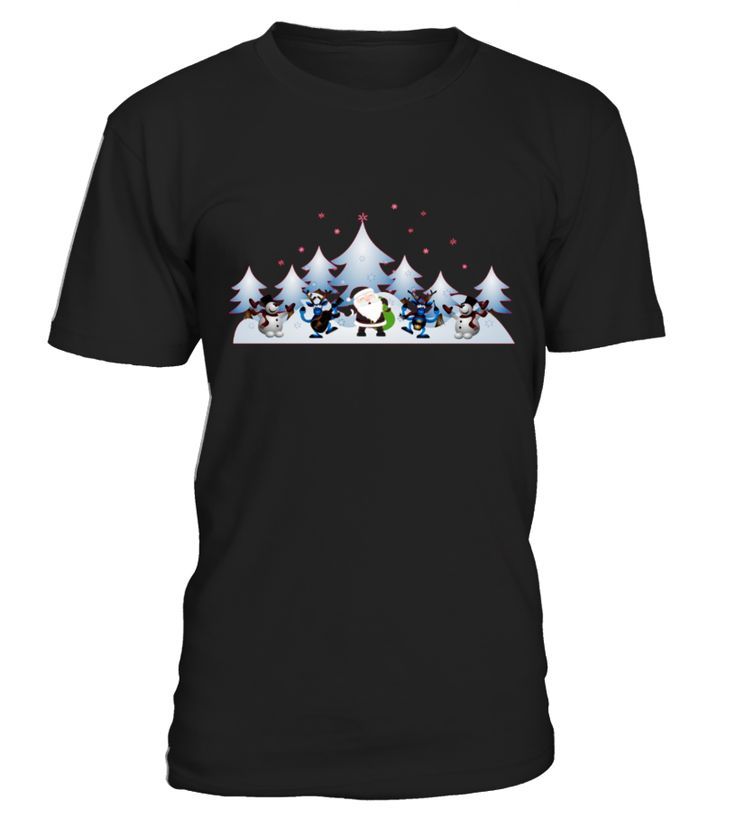 Christmas Trees Santa Claus T shirt Merry Christmas Tshirt  Funny Christmas T-shirt, Best Christmas T-shirt