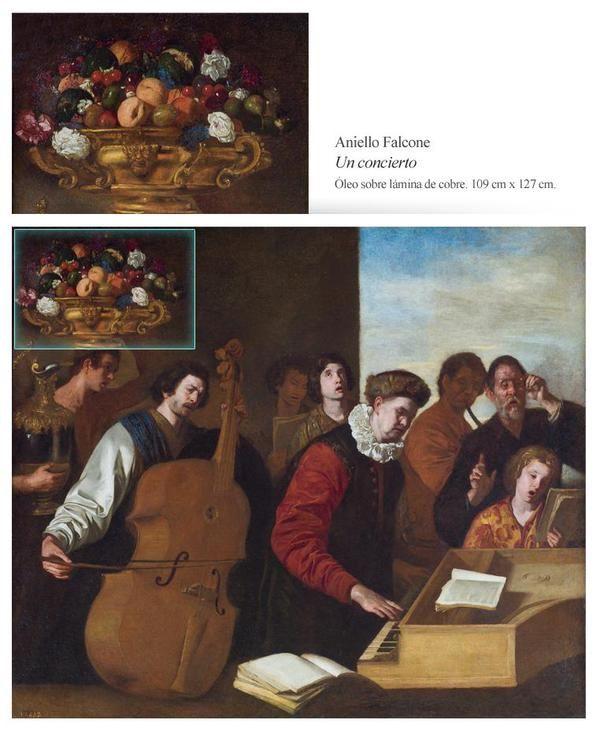 """""""Un concierto"""", Aniello Falcone (ca.1640)"""