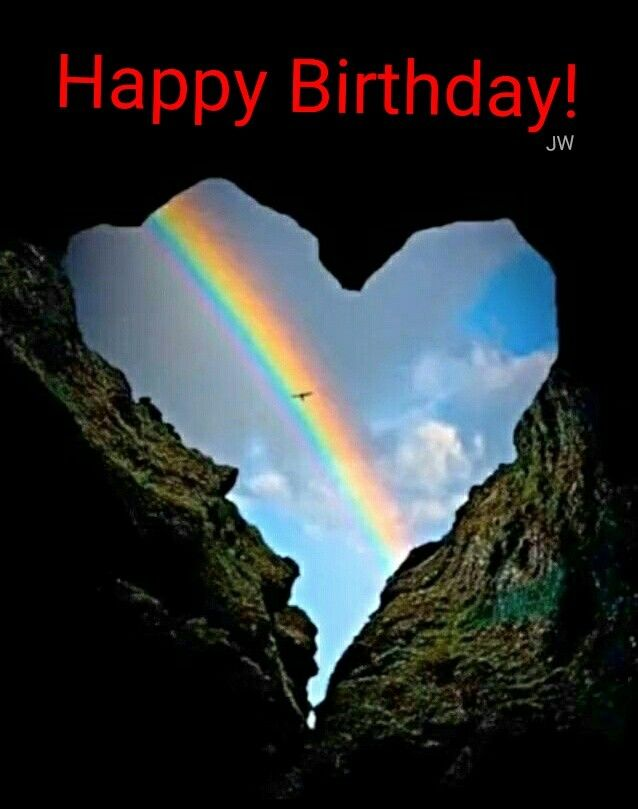 Pin By Karen Geri On Happy Birthday And Sayings Rainbow Photography Heart In Nature Rainbow Aesthetic