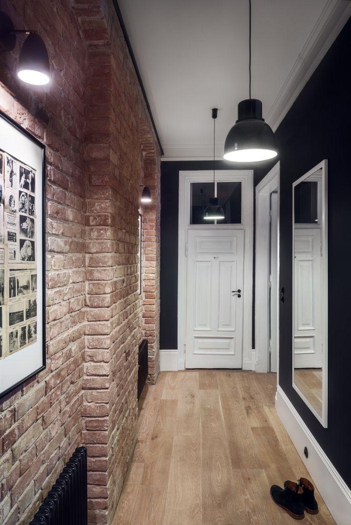 ▷ 1001 + idées de couleurs pour une peinture couloir