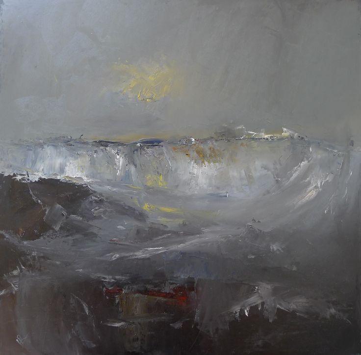 Heavy Seas II 60 x 60 cm Oil on board