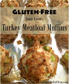 He and She Eat Clean: Clean Eat Recipe :: Jamie Eason's Turkey Meatloaf Muffins