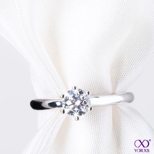 """""""Fraguma"""" diamond ring is a true classic #yorxs #diamantringe #diamant"""