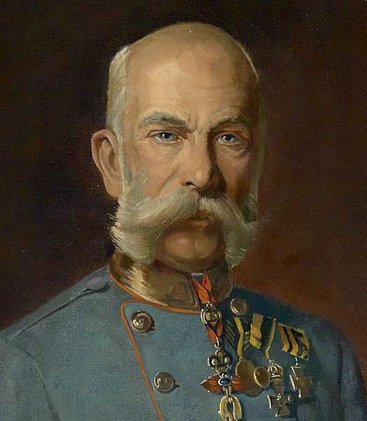 Franz Joseph I or Francis Joseph I (18 Aug 1830 – 21 Nov 1916) was Emperor of Austria, King of Bohemia, King of Croatia and Apostolic King of Hungary from 1848 until 1916.  Franz Joseph was troubled by nationalism during his entire reign. He concluded the Ausgleich of 1867, which granted greater autonomy to Hungary, hence transforming the Austrian Empire into the Austro-Hungarian Empire under his Dual Monarchy.
