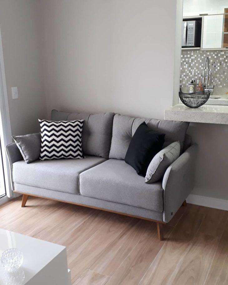 Sofa Cinza 85 Ideias De Como Usar Esse Movel Versatil Na Decoracao Grey Sofa Living Room Gray Sofa Living Living Room Decor Grey Sofa