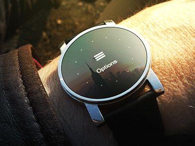 Smartwatch Concept UI/UX