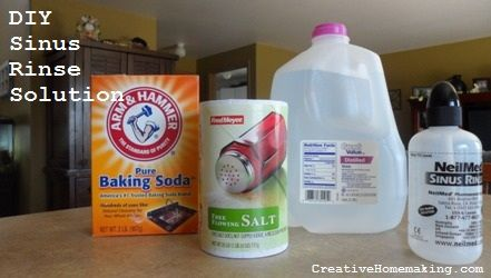 sinus rinse solutionSaline Solution, Diy Nasal Rinse, Baking Soda