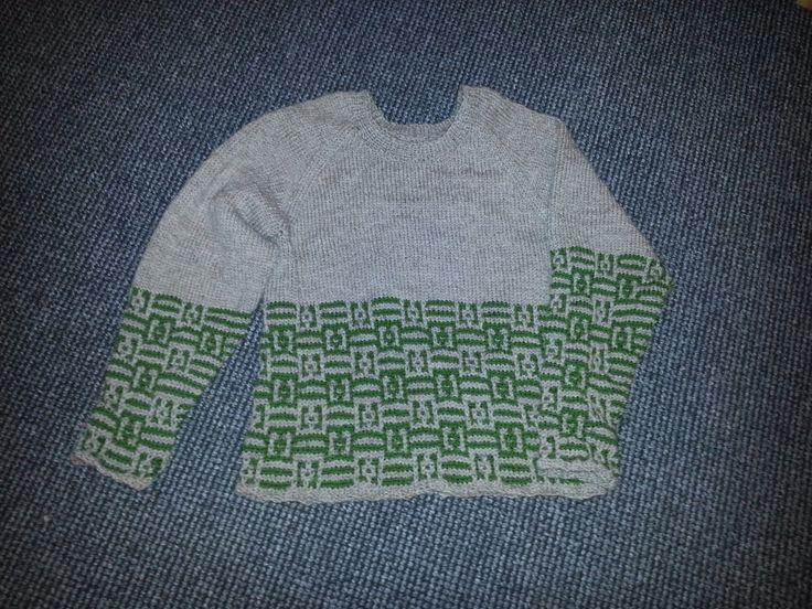 Den kreative nørkler: Mine kreationer - Sweater str. XL - eget design