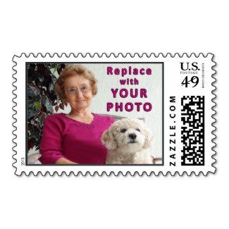 """Fun Personalized Postage Stamps, our Horizontal or Vertical PHOTO Stamps. See featured picture postage stamps USPS. HERE: http://giftsforcreativepeople.com/personalized-postage-stamps-usps-instructions/  Personalized Postage Stamps USPS for birthday stamps, anniversary, weddings, baby announcement stamps. MORE Photo Stamps and other Personalized Gifts for those who have everything HERE: href=""""http://www.zazzle.com/littlelindapinda/gifts?cg=196011228045420884&rf=238147997806552929"""