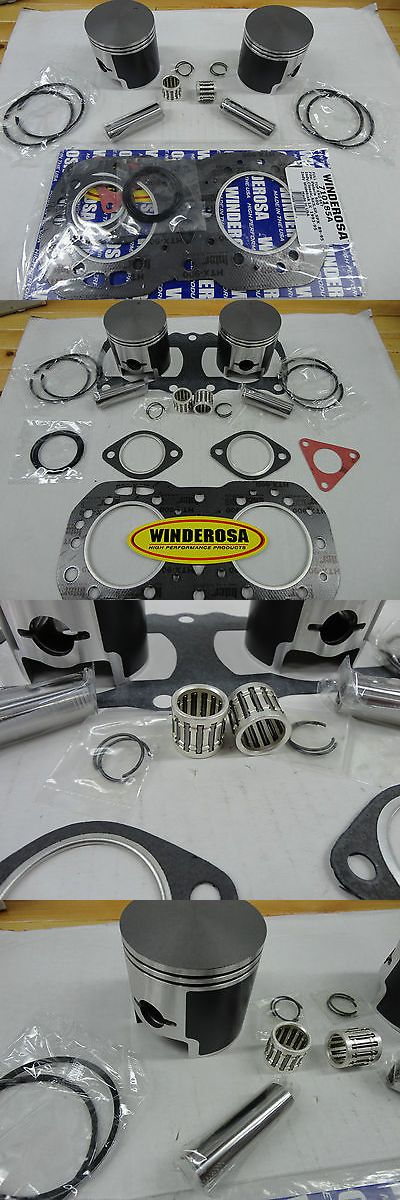Snowmobile Parts 23834: Polaris 500 Piston Top End Kit Fits Indy Classic Rmk Sks Super Sport Trail Delux -> BUY IT NOW ONLY: $180 on eBay!