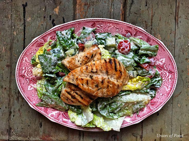 Lighter Ceasar Salad Recipe