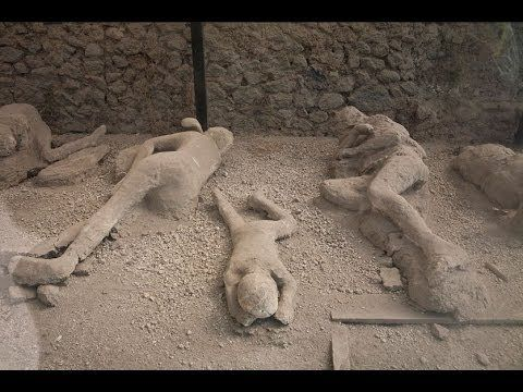 Pompeii: A Mystery of People Frozen in Time - Documentary - This one tells why it is now believed that the people actually died from the heat and not suffocation (has a scientist who does an experiment), Also explains about how the volcano acted differently than most & x-rays of 2 of the body casts w/reconstructions of their faces.