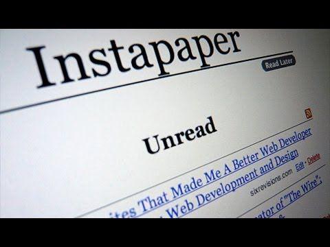 #app #ipad #Instapaper conserva #noticias y #artículos de prensa