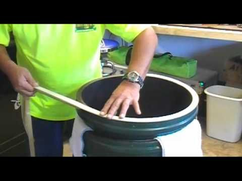 Big Green Egg gasket replacement