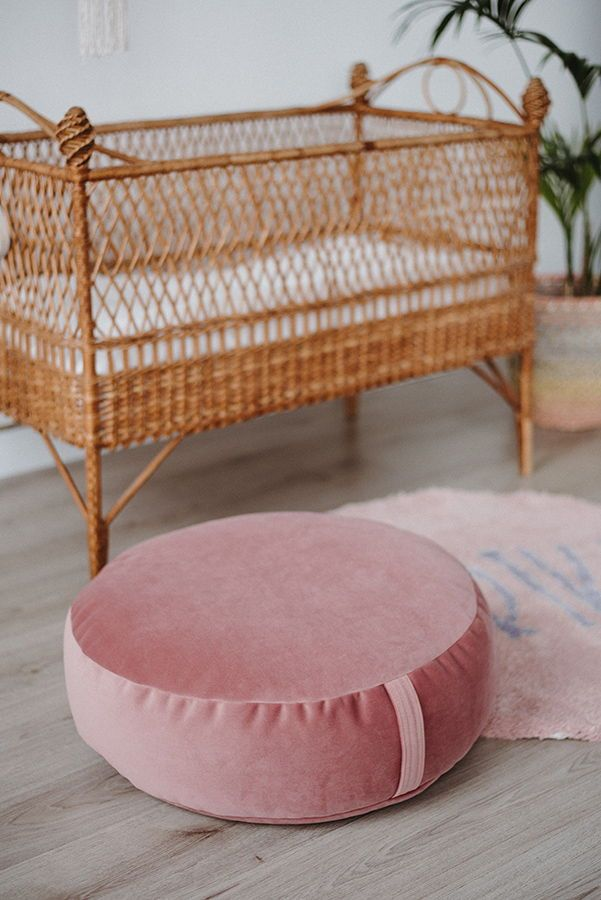 Pastel Cozy Velvet Pouf Is Cute Addition To Any Nursery Best For
