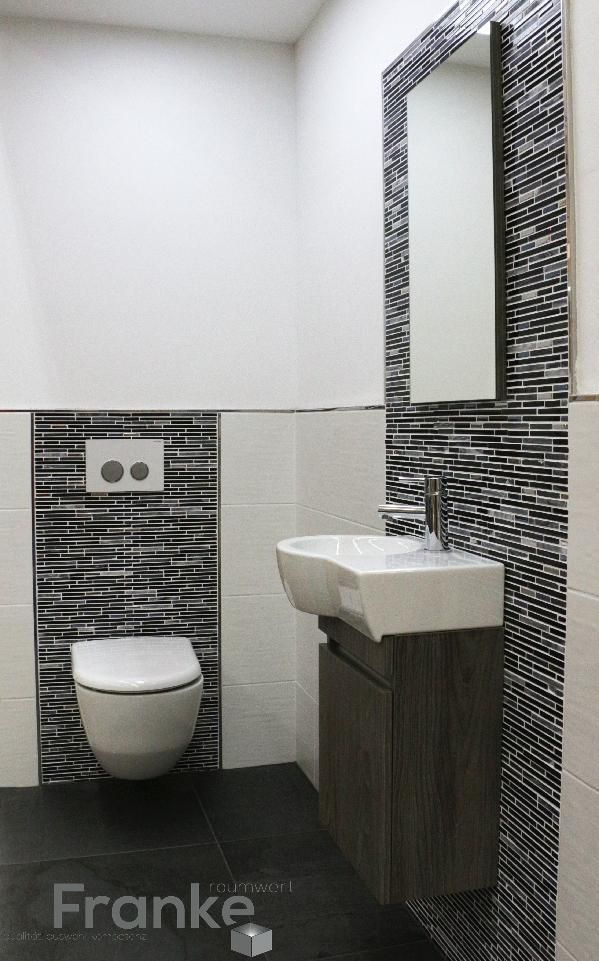 Badezimmer Neu Gestalten Ideen Images In 2020 Small Bathroom Toilet Design