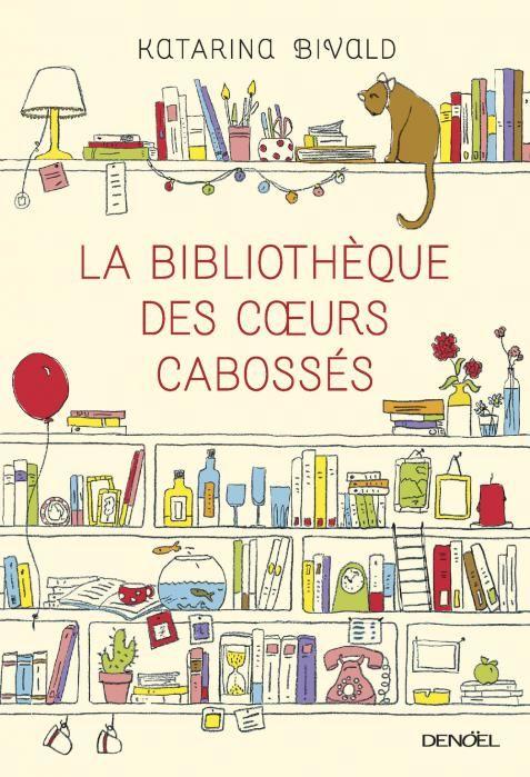 """La Bibliothèque des cœurs cabossés, de Katarina Bivald, """"un magnifique hommage aux livres"""" d'après @CarnetParisien. Sa chronique : https://carnetparisien.wordpress.com/2015/03/31/la-bibliotheque-des-coeurs-cabosses-katarina-bivald/"""
