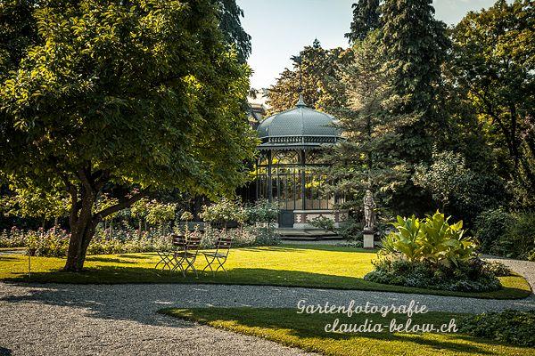 Villa Patumbah Park im Spätsommer - öffentlich - Garten im englischen Stil – Fotografie von Claudia Below
