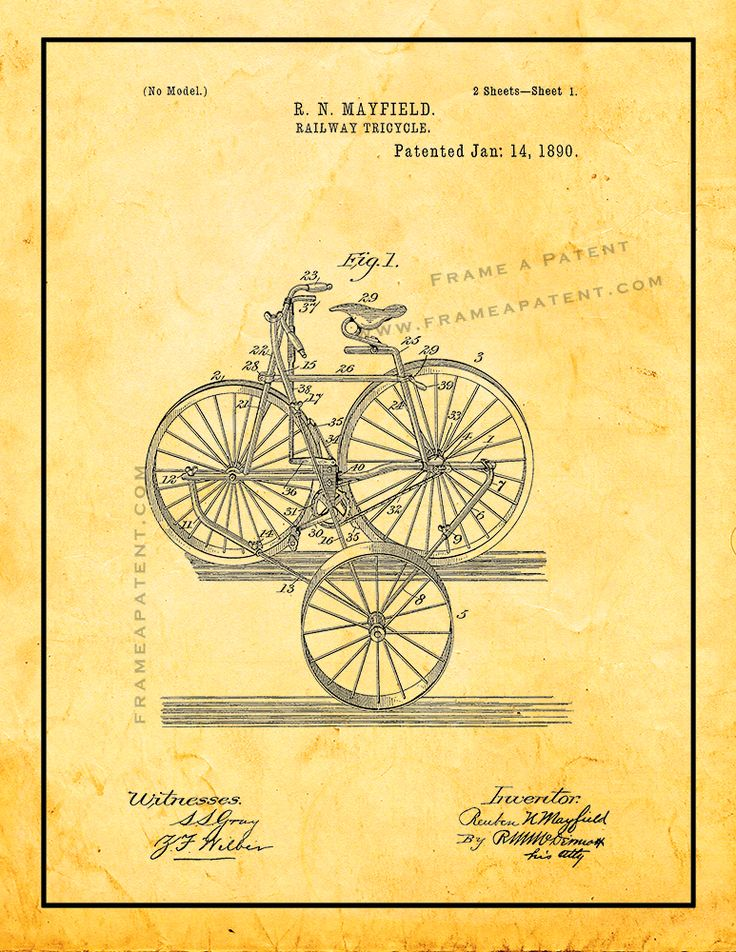 Pin by Frame a Patent on Train Patent Prints Patent