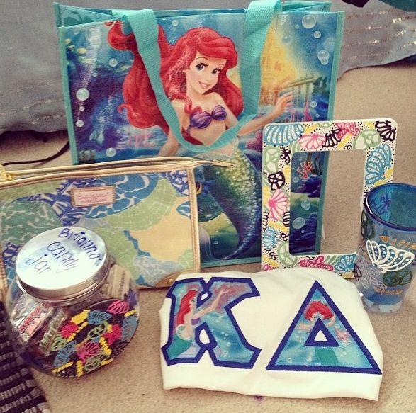 little mermaid +KΔ = ❤❤