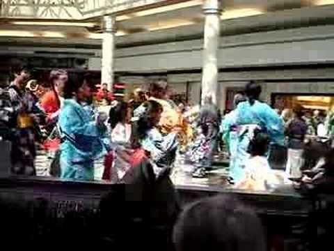 Bon Odori (Japanese dance)