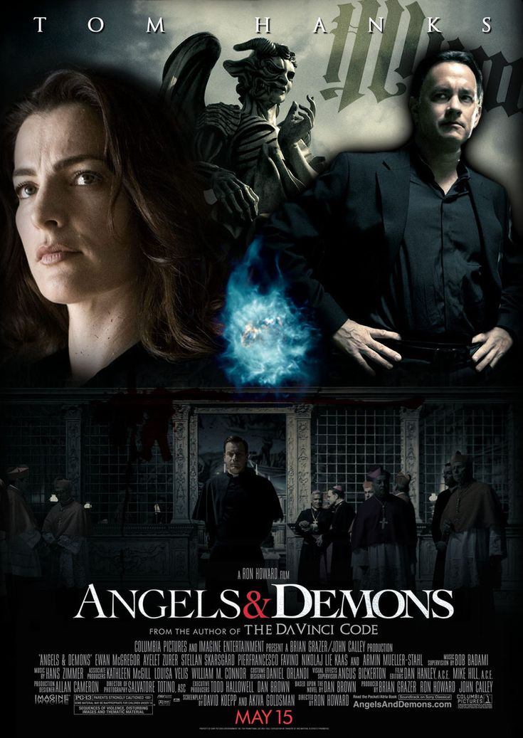 poster of angels amp demons 2009 in hindi english dual