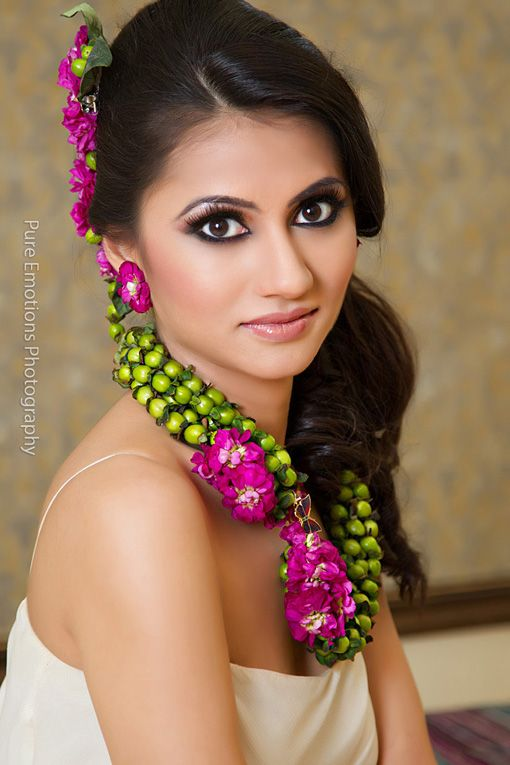 Suhaag garden floral jewelry design pink and green 2