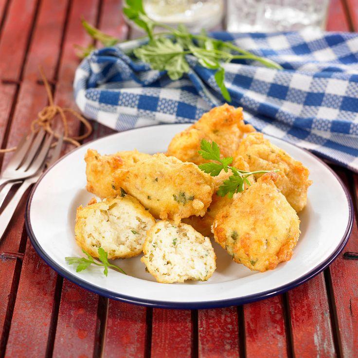 Découvrez la recette Beignets de morue sur cuisineactuelle.fr.