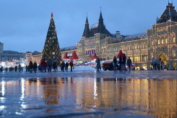 IN RUSSIA, IT IS CELEBRATED ON JANUARY 7