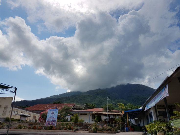 Blessing God  Area of Cathedral Larantuka, East Nusa Tenggara, Indonesia