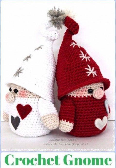 идеи вязание связаные крючком куклы рождественские узоры и