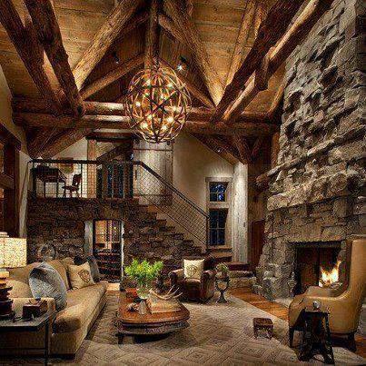Beautiful Rustic Livingroom jj
