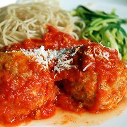Fast and Friendly Meatballs | Hamburger meat Recipes | Pinterest ...