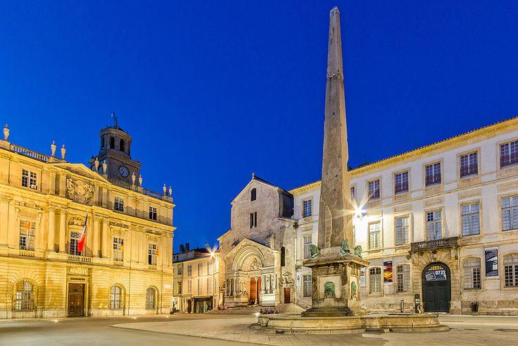Blue hour in Arles