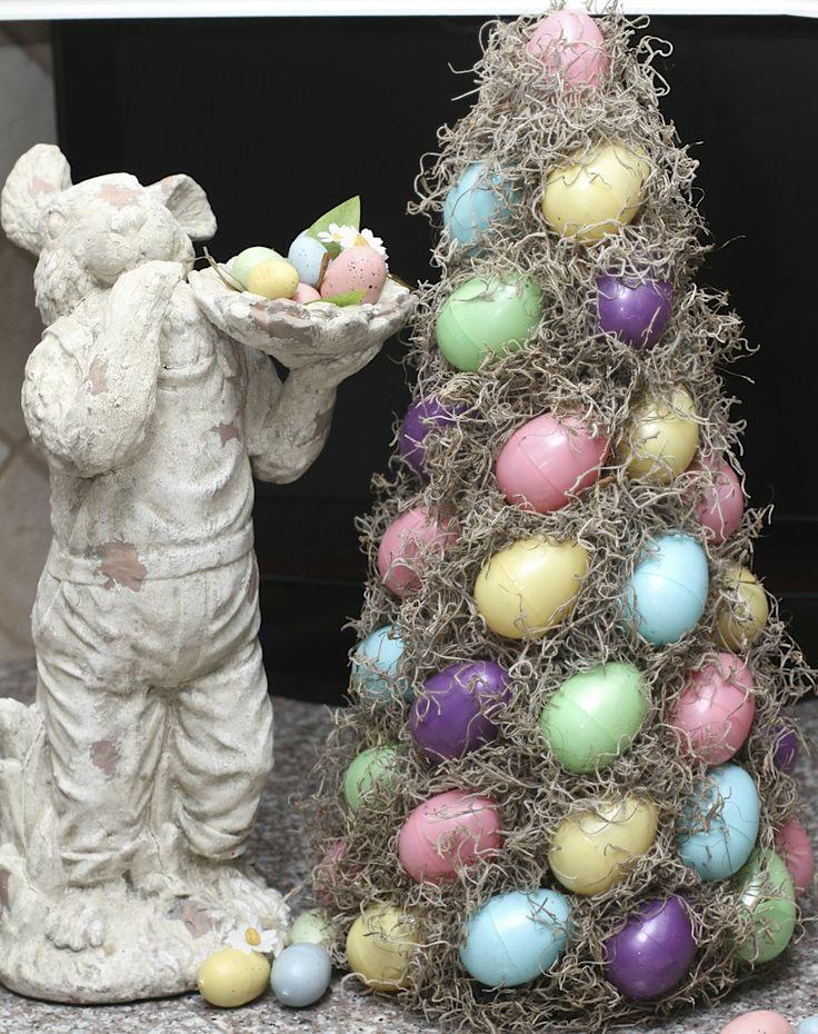 DIY: Easter Egg Topiary
