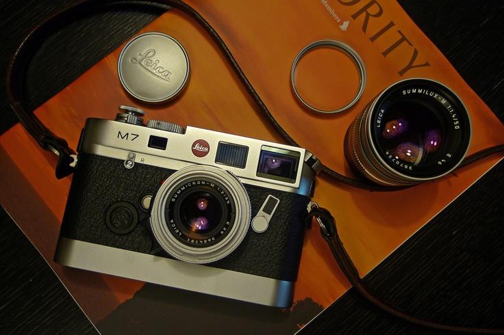 Leica M7 + 35 Summicron + 50 Summilux