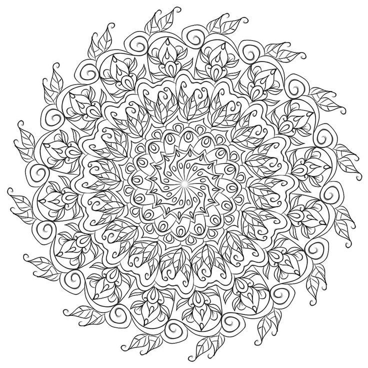 Mandala 712, Krita Mandala 5 by WelshPixie on DeviantArt