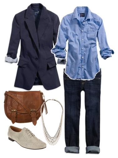 Fashion Worship with or without the blazer one of my favorite styles