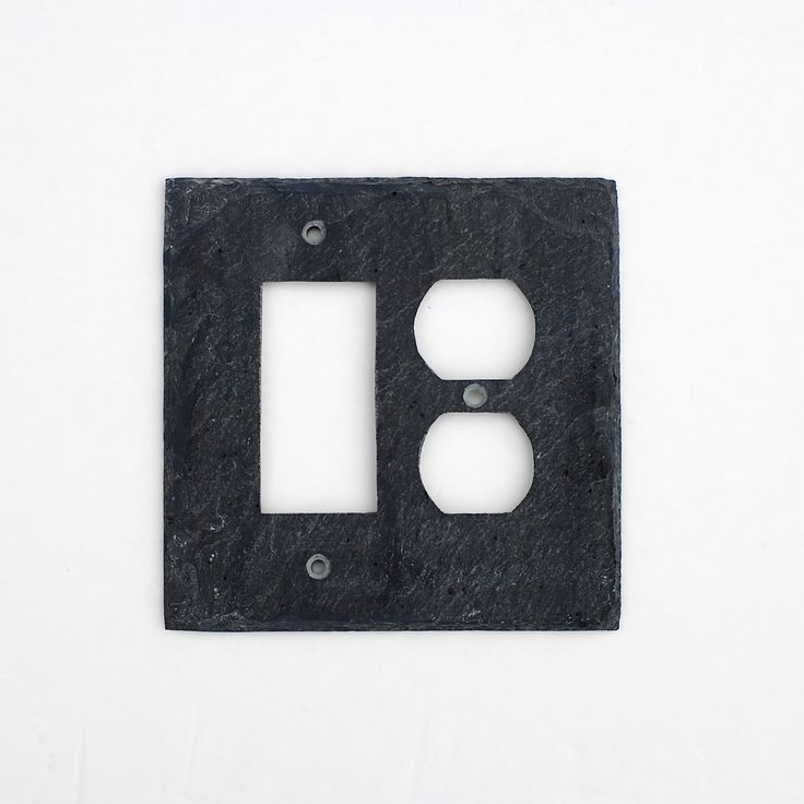 103 best images about light switch and outlet covers slate for Decor light switch