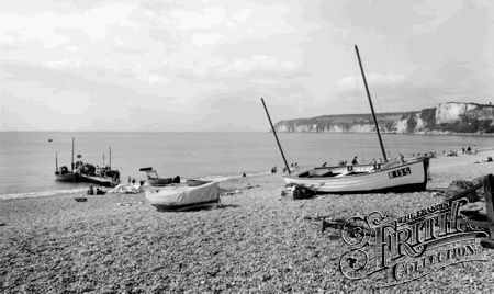 Seaton, the Beach c1965 - Francis Frith collection